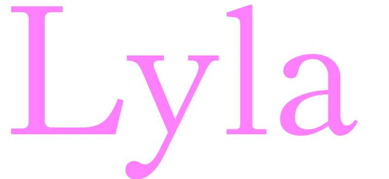 Lyla - girls name