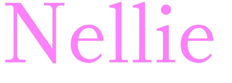 Nellie - girls name