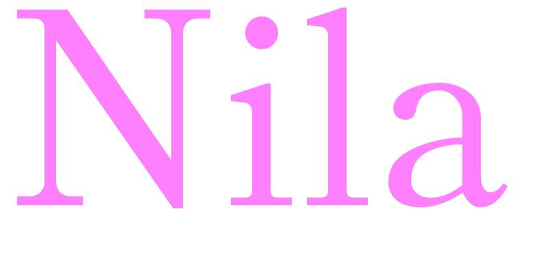 Nila - girls name